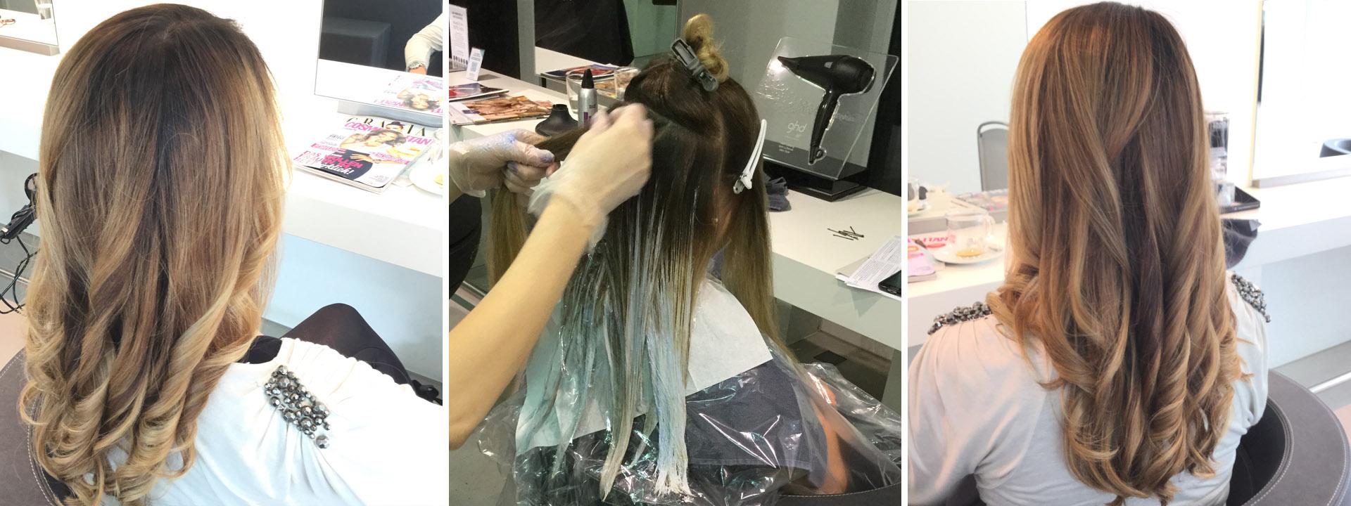 Haargenau Kleve Balayage Frisuren und Technik